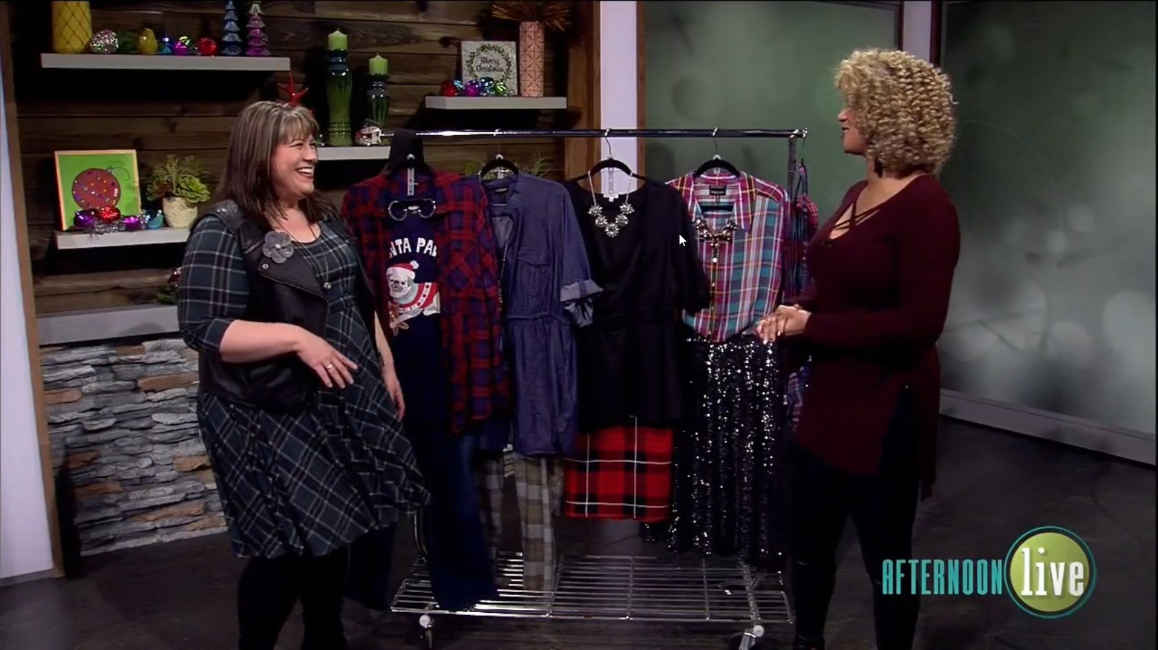 KATU Afternoon Live (12/06/2019) Mad About Plaid - DivineMrsDiva.com