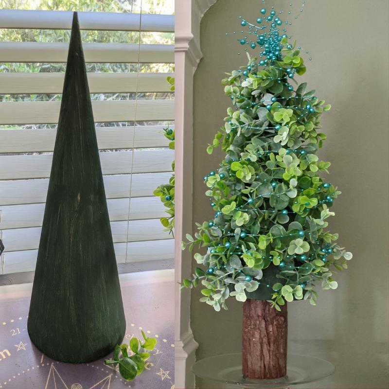 Decorative Garland Tree - DivineMrsDiva.com
