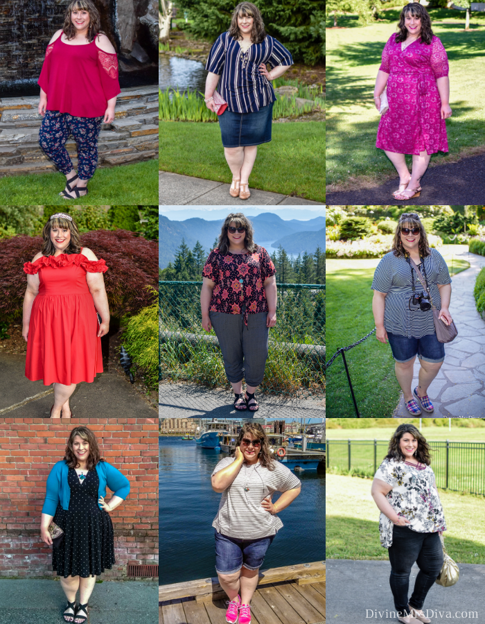 2018 Year In Review - DivineMrsDiva.com #psblogger #plussizeblogger #styleblogger #plussizefashion #plussize