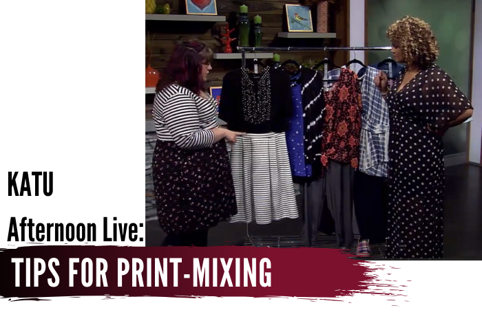 KATU Afternoon Live: Expand Your Wardrobe By Mixing Prints!