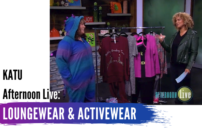 KATU Afternoon Live: Loungewear & Activewear