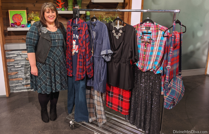 In today's KATU Afternoon Live post, Hailey shares her tips for infusing plaid into your wardrobe in major and more subtle ways!- DivineMrsDiva.com #AfternoonLive #KATUAfternoonLive #portland #psblogger #psootd #plussize #styleblogger #plussizeclothing #outfit #style #plussizecasual #pdx #plussizeblogger #Torrid #LaneBryant #Catherines #Loft #Plaid #Foxcroft #NessHandbags #Kiyonna #OldNavy