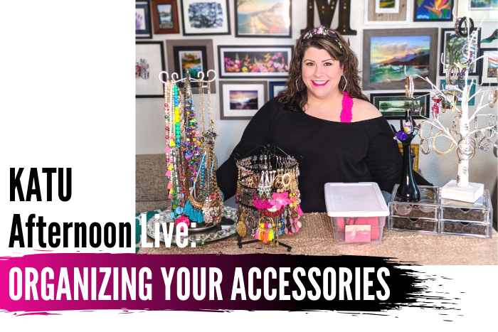 KATU Afternoon Live: Organization & Storage For Your Accessories & More!