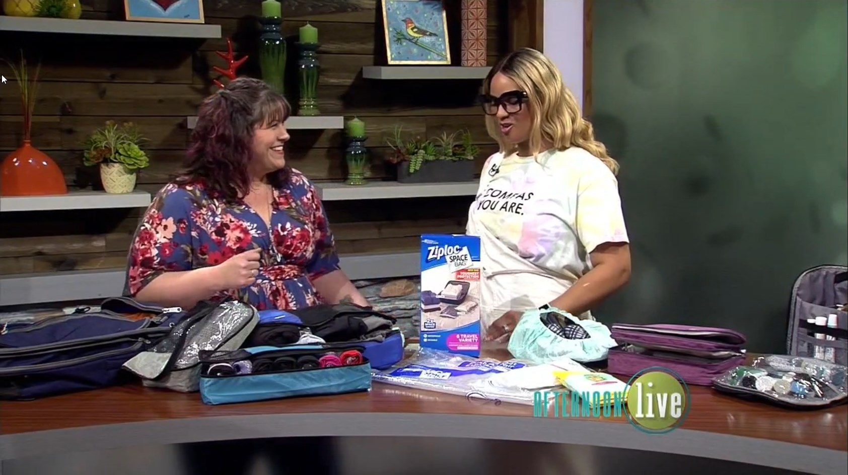KATU Afternoon Live (06/14/2019) Plus Size Packing Tips! - DivineMrsDiva.com