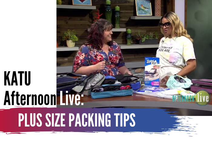 KATU Afternoon Live: Plus Size Packing Tips