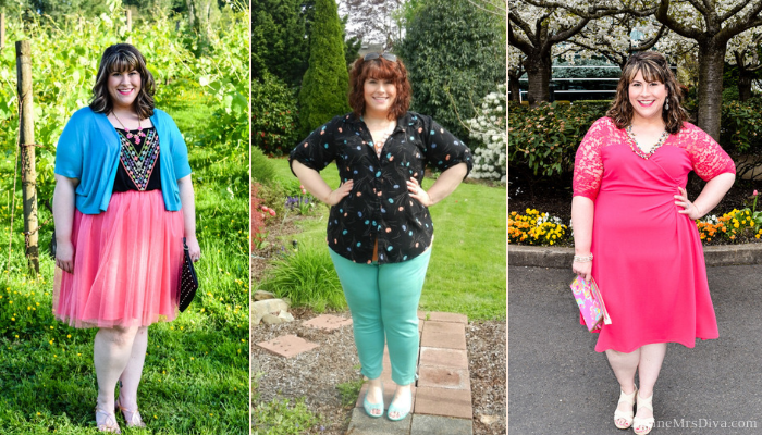 In today's KATU Afternoon Live Companion post, Hailey shares her tips for breaking those pesky and antiquated plus size fashion rules. - DivineMrsDiva.com #AfternoonLive #KATUAfternoonLive #BodyPositivity #BodyAcceptance #pdx #psblogger #plussize #plussizeblogger #psootd #styleblogger #outfit #style #plussizecasual #plussizefashionrules #Kiyonna #Torrid #LOFT #TargetStyle #Leith