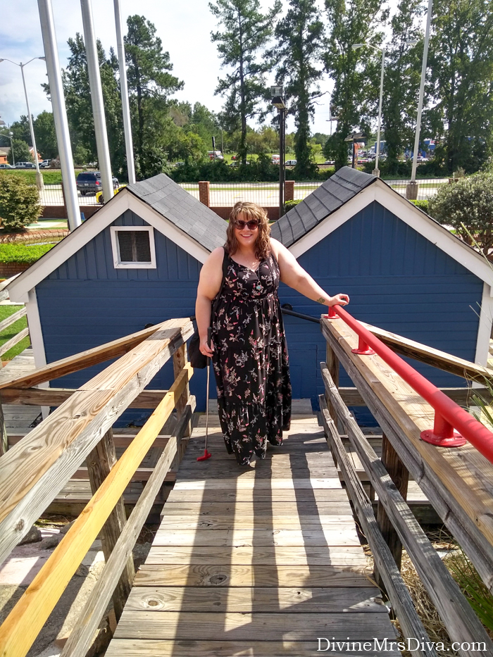In today's post, it is Hailey's last day of her reunion trip.  She shares her outfit-of-the-day and looks back on the fond memories she made during this important journey. – DivineMrsDiva.com #travel #vacation #plussizetravel #augusta #northaugusta #psblogger #plussizeblogger #styleblogger #plussize #psootd #Torrid #TorridInsider #summerstyle #plussizecasual #plussizefashion #plussizeclothing