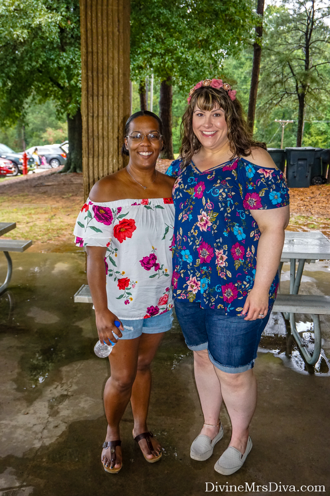 In today's post, Hailey takes you along for the picnic event of her 20-year high school reunion weekend! – DivineMrsDiva.com #travel #vacation #plussizetravel #augusta #northaugusta #psblogger #plussizeblogger #styleblogger #plussizefashion #plussize #psootd #ootd #plussizeclothing #outfit #style #plussizecasual #torrid #torridinsider