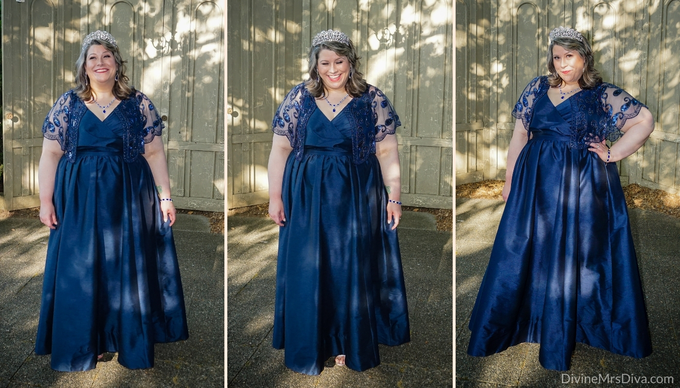 Wedding attire, ft. eShakti! - DivineMrsDiva.com #specialoccasion #eshakti #plussize #wedding #bridesmaid #psblogger #plussize #styleblogger #plussizeblogger #plussizefashion #psootd #ootd #plussizeclothing #outfit #style #40style #40plusblogger