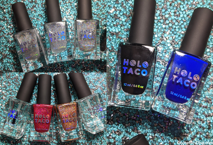 Stocking Stuffer Gift Guide with a variety of items across varying price points (Holo Taco Nail Polish) - DivineMrsDiva.com  #giftguide #stockingstuffer #holiday #gifts #christmas