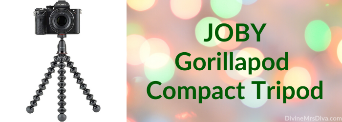 Stocking Stuffer Gift Guide with a variety of items across varying price points (JOBY Gorillapod Compact Tripod) - DivineMrsDiva.com  #giftguide #stockingstuffer #holiday #gifts #christmas