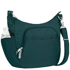 Gift Guide 2018 - Travelon Anti-Theft Classic Crossbody Bucket Bag - DivineMrsDiva.com