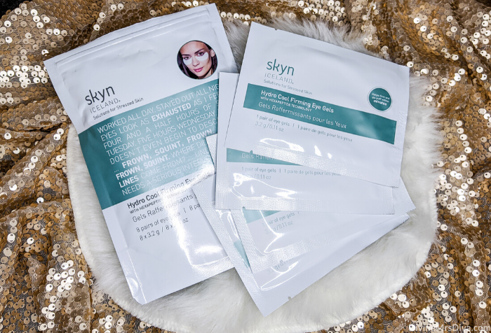 Today Hailey shares products she loves to pamper herself with, that help her destress, and brighten her day as she preps to deal with the negative feelings the holidays can bring. (Skyn Iceland Hydro Cool Firming Eye Gels)– DivineMrsDiva.com #holiday #holidayblues #selfcare #mentalhealth #skincare #SmileBrilliant #Teethwhitening #giveaway #amazonfinds #BoneeMaman #TraditionalMedicinals #DailyRitual #RascalHoney #Voke #VokeSuperfood #Purlisse #dermelect #FabFitFun #InstaNatural #SkynIceland