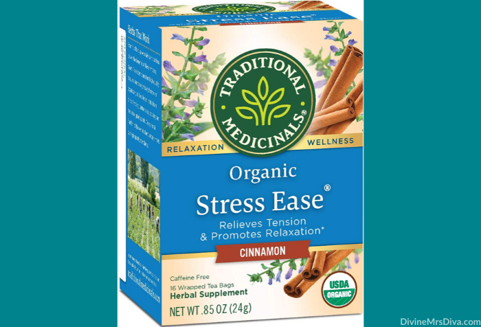 Today Hailey shares products she loves to pamper herself with, that help her destress, and brighten her day as she preps to deal with the negative feelings the holidays can bring. (Traditional Medicinals Organic Stress Ease Cinnamon Relaxation Tea)– DivineMrsDiva.com #holiday #holidayblues #selfcare #mentalhealth #skincare #SmileBrilliant #Teethwhitening #giveaway #amazonfinds #BoneeMaman #TraditionalMedicinals #DailyRitual #RascalHoney #Voke #VokeSuperfood #Purlisse #dermelect #FabFitFun #InstaNatural #SkynIceland