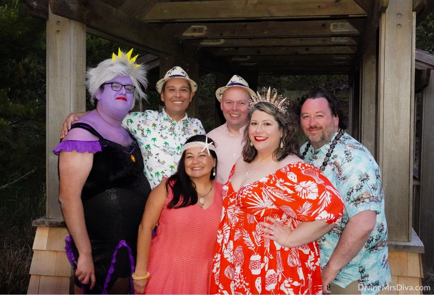 Hailey celebrates her birthday with a photoshoot on the beach with friends, ft. Eloquii & DIY Seashell Tiara – DivineMrsDiva.com  #psblogger #plussizeblogger #styleblogger #plussizefashion #plussize #psootd #ootd #plussizeclothing #outfit #style #Eloquii #XOQ #Mermaid #DIYtiara