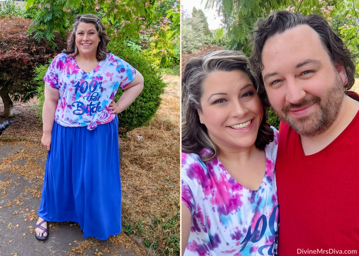 Layering maxi dresses for summer fun! Review of Ava & Viv Maxi from Target – DivineMrsDiva.com