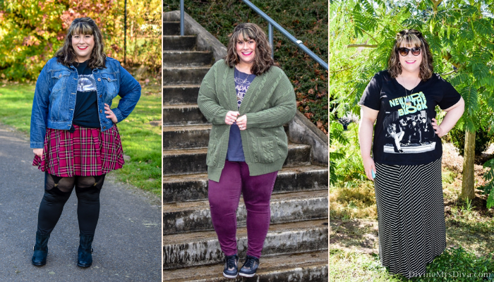 In today's KATU Afternoon Live post, Hailey talks styling graphic tees beyond just jeans and a t-shirt, with outfit inspiration, styling tips, and wear to shop! - DivineMrsDiva.com #AfternoonLive #KATUAfternoonLive #portland #psblogger #graphictees #psootd #plussize #styleblogger #plussizeclothing #outfit #style #plussizecasual