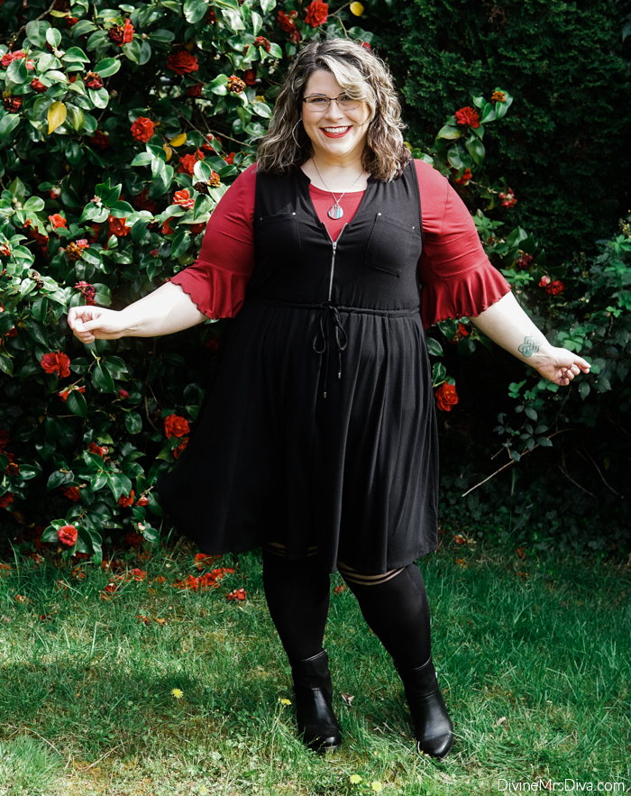 Today's Hot Nerd Girl Vibes feature items from Torrid, Halftee, Rachel, Dansko, & Heathergems! – DivineMrsDiva.com #plussizefashion #psootd #ootd #plussizeclothing #outfit #style #40style #40plusblogger #psblogger #plussize #styleblogger #plussizeblogger