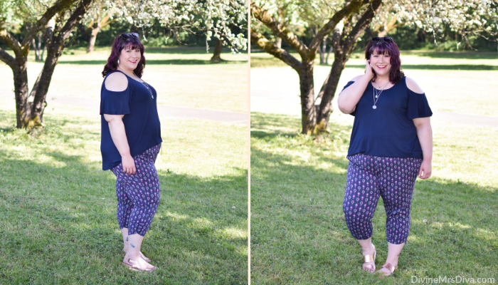 In today's post, Hailey compares two looks featuring soft pants, one of her favorite styles to wear in the summer months. - DivineMrsDiva.com #Torrid #TorridInsider #Kiyonna #KiyonnaStyle #crocs #twoskies #naturalizer #psblogger #plussizeblogger #styleblogger #plussizefashion #plussize #psootd #ootd #plussizeclothing #outfit #style #plussizecasual #spring #summer #springstyle #summerstyle