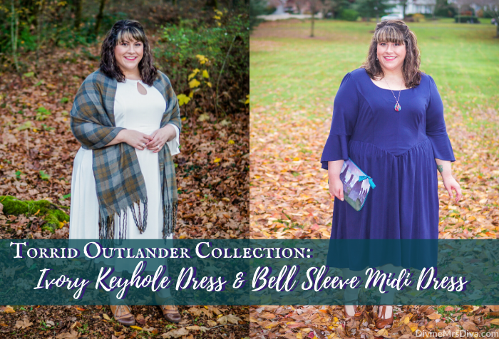Torrid Outlander Collection Review: Ivory Keyhole Dress & Bell Sleeve Midi Dress