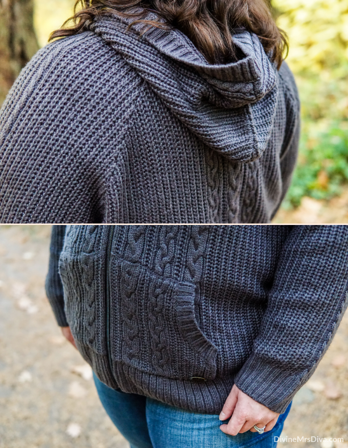 Reviewing the Green Thistle Print Lace-Up Hoodie and Grey Cable Knit Zip Hoodie from Torrid's 2019 Outlander Collection – DivineMrsDiva.com #psblogger #plussizeblogger #styleblogger #plussizefashion #plussize #psootd #ootd #plussizeclothing #outfit #style #Outlander #outlanderfashion #torrid #Torridinsider #Feelthefit #hoodie