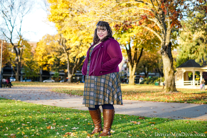 Torrid Outlander Collection Review: Tartan Hacci Wrap Dress