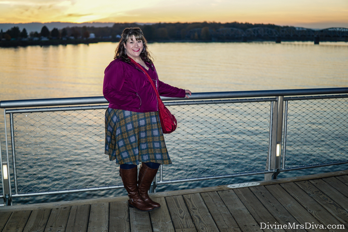 Reviewing the Tartan Hacci Wrap Dress from Torrid's 2019 Outlander Collection – DivineMrsDiva.com #psblogger #plussizeblogger #styleblogger #plussizefashion #plussize #psootd #ootd #plussizeclothing #outfit #style #fall #fallstyle #Outlander #outlanderfashion #torrid #Torridinsider #Feelthefit