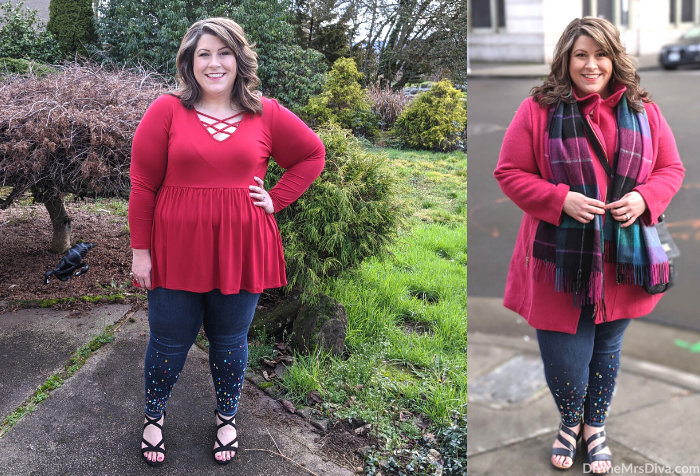 Hailey shows you what she wore out on the town for Valentine's Day! – DivineMrsDiva.com #psblogger #plussizeblogger #styleblogger #plussizefashion #plussize #psootd #ootd #plussizeclothing #outfit #style #torrid #Torridinsider #Feelthefit #loft #loveloft #ValentinesStyle