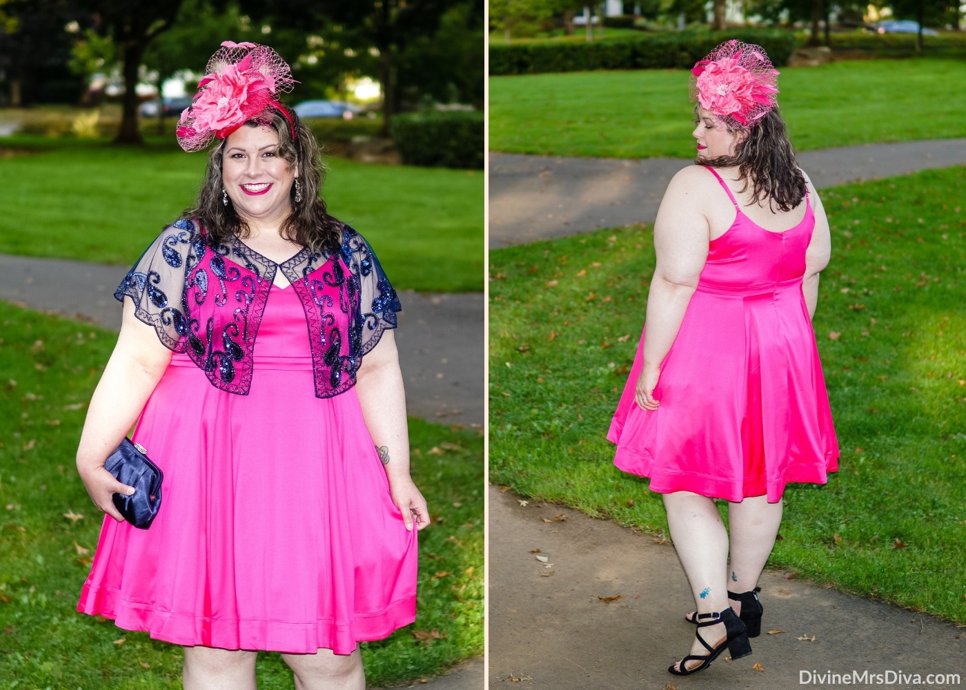 Reviewing the Rachel Alexandria by Tenth Street Hats! – DivineMrsDiva.com #psblogger #plussize #styleblogger #plussizeblogger #plussizefashion #psootd #ootd #plussizeclothing #outfit #style #40style #40plusblogger #PartyStyle #TenthStreetHats
