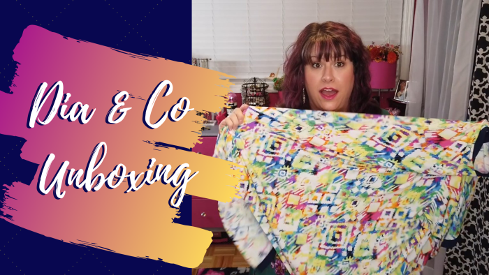 In today's post, Hailey is trying on pieces from her latest Dia and Co box! - DivineMrsDiva.com #DiaandCo #MyDiaStyle #fittingroom #psblogger #plussizeblogger #styleblogger #plussizefashion #plussize #psootd #ootd #plussizeclothing #outfit #style #plussizecasual #springstyle #summerstyle