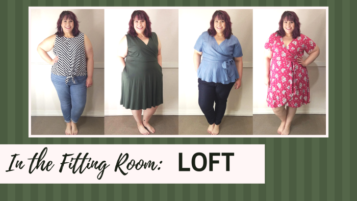 In the Fitting Room: LOFT - Today I'm bringing you my very first #LOFT try-on session!!  I ventured to the Lloyd Center LOFT in Portland, Oregon to try on various styles. – DivineMrsDiva.com  #psblogger #plussizeblogger #styleblogger #plussizefashion #plussize #psootd #ootd #plussizeclothing #outfit #style #plussizecasual #spring #summer #springstyle #summerstyle #fittingroom