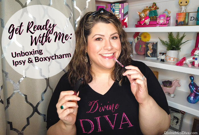 In today's post, Hailey unboxes her June 2020 subscription beauty boxes – Ipsy Glam Bag Plus & Boxycharm! Get ready with her as she tries the skincare and makeup in the boxes! - DivineMrsDiva.com  #Boxycharm #Ipsy #unboxing #subscriptionbox #beauty #makeup #skincare #beautybag #beautybox #grwm #getreadywithme