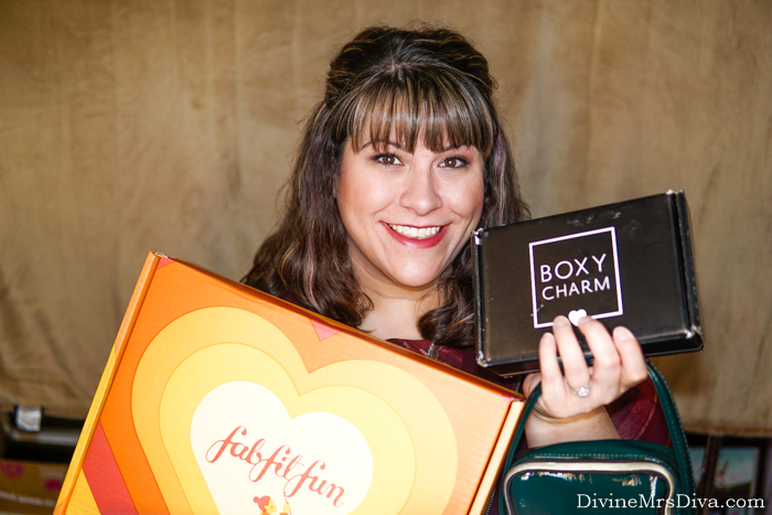 In today's post, Hailey unboxes the September Boxycharm, Fall FabFitFun box, and Sephora Play Luxe bag! - DivineMrsDiva.com #Boxycharm #FabFitFun #SephoraPlay #unboxing #subscriptionbox #beauty
