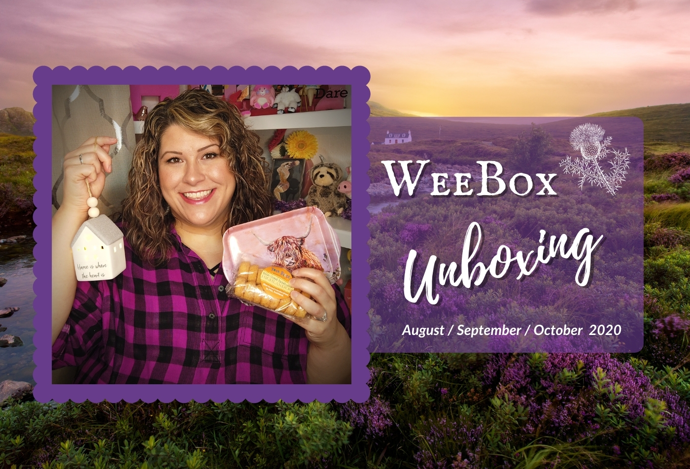 Unboxing Weebox - August, September, & October 2020 - DivineMrsDiva.com  #weebox #subscriptionbox #unboxing #Scotland
