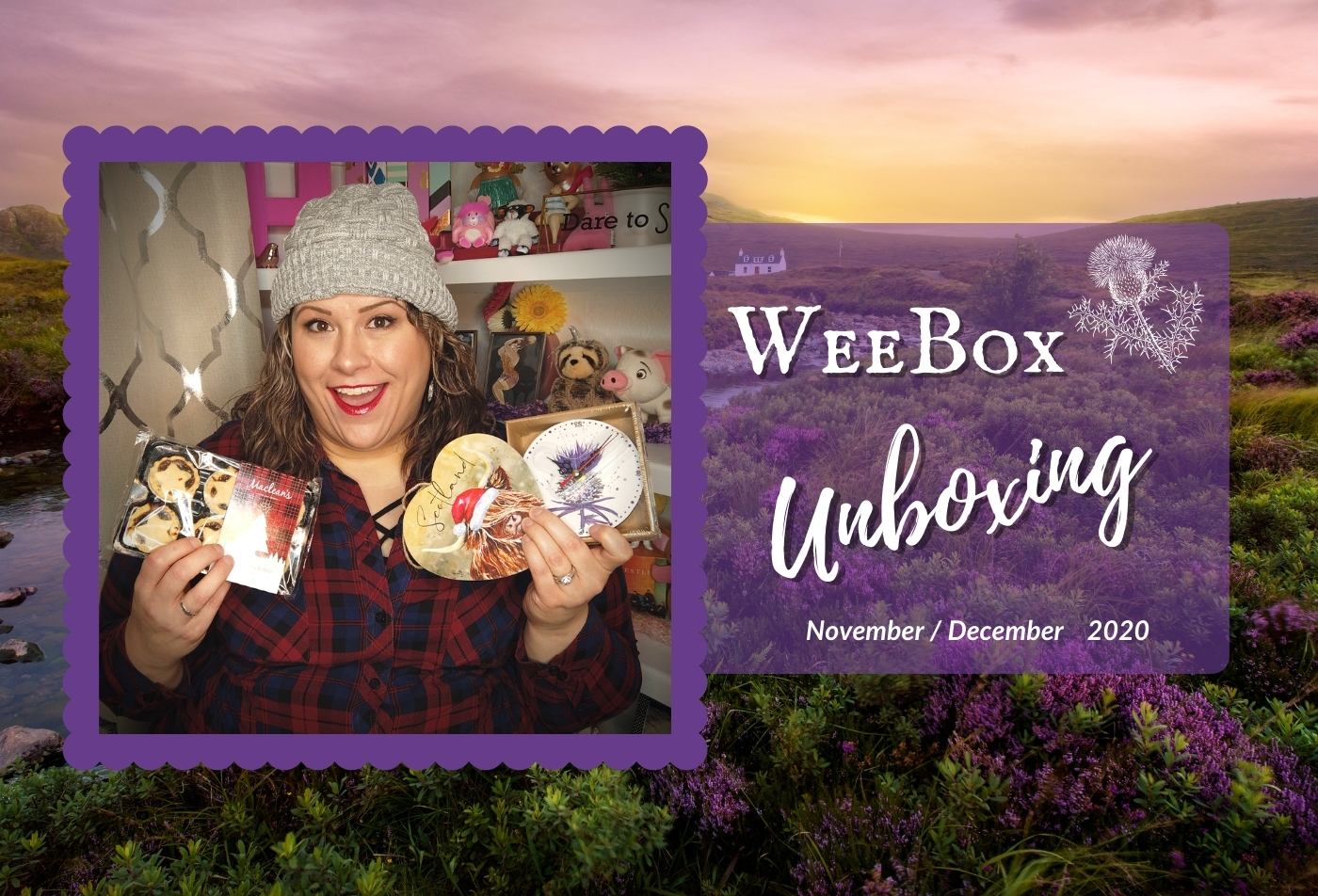 Weebox Unboxing:  November & December